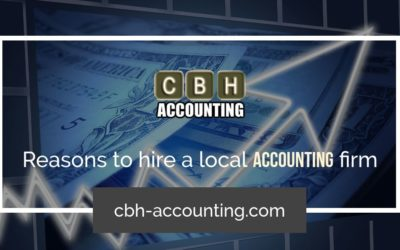 Top Benefits Of Using A Local Accountancy Firm