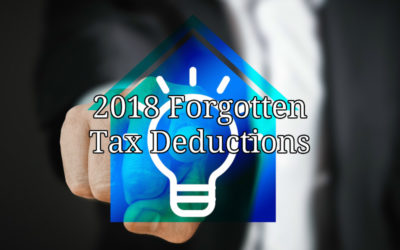 Four Ways to Get Tax Deductions in 2018