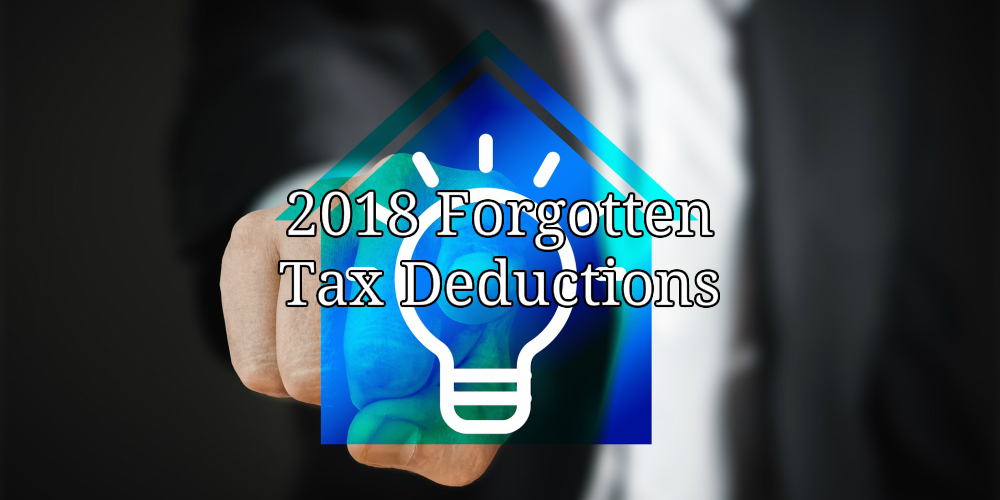 2018 tax deductions